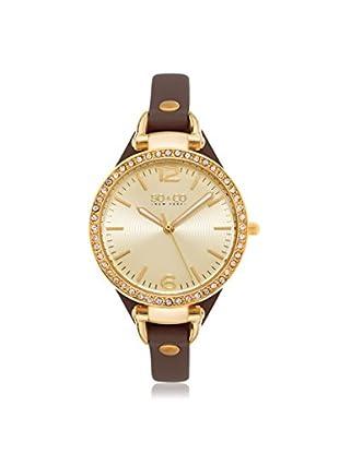 SO&CO New York Women's 5061.2 SoHo Analog Display Quartz Brown Watch