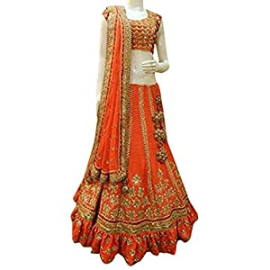 Festive Wear Bridal Lehenga Designer Gherdaar Anarkali Lehenga Choli With Heavy Embroidery by Ethnic Dresses
