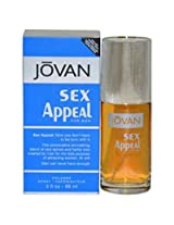 Jovan Sex Appeal By Jovan For Men 3 Ounce Cologne Spray