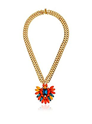 Maiocci Collar  Dorado / Multicolor