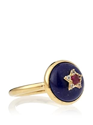 Elizabeth and James Lapis Victorian Star Small Ring