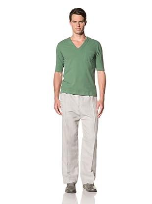 Camo Men's Cerreto V-Neck T-Shirt (Green)