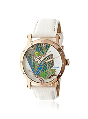 Bertha Women's BR4304 Isabella White/Multi Leather Watch