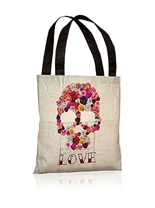 Oliver Gal Bed Of Roses Tote Bag, Ivory/Multi
