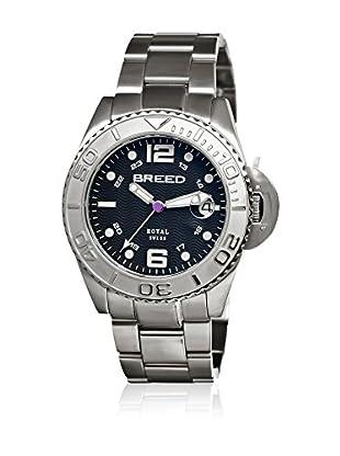 Breed Reloj con movimiento cuarzo suizo Brd4802 Plateado 42  mm