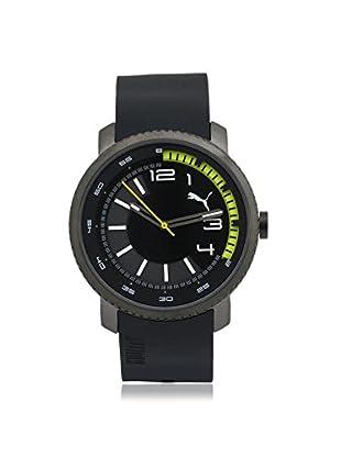 Puma Men's PU103291001 Black Stainless Steel Watch