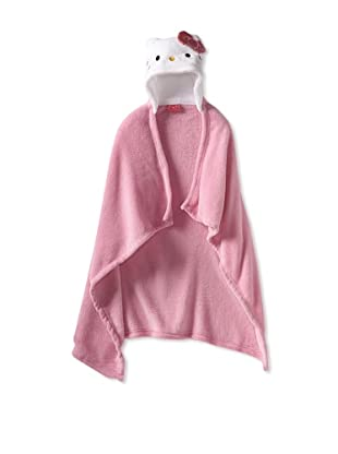 AME  Hello Kitty Solid Hooded Wrap (Big Kid)