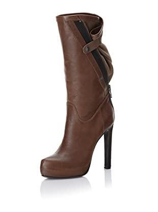 Haider Ackermann Women's Zipper Boots (Tobacco)