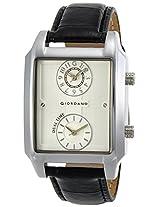 Giordano Analog White Dial Men's Watch - 60059 (P10705)
