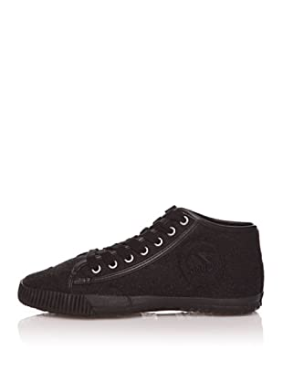 Shulong Zapatillas Shuwool High (Negro Logo)
