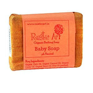 Rustic Art Organic Baby Soap 100 grams