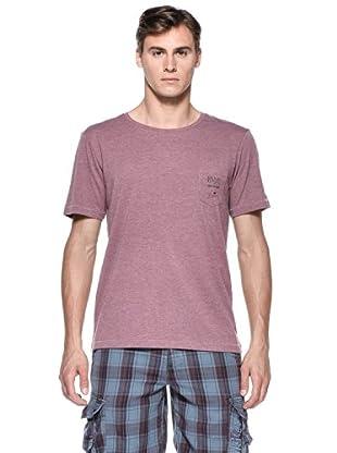 Rip Curl T-Shirt Basic Crew S/S Tee (Bordeaux)