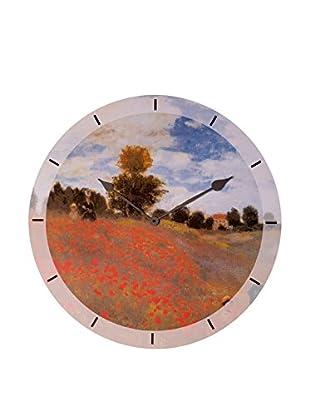 Artopweb Reloj De Pared Monet Coquelicots