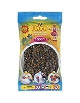 Bulk Buy:Hama Dark Brown 207 12 Color Midi Beads 1,000 Count (3 Pack)