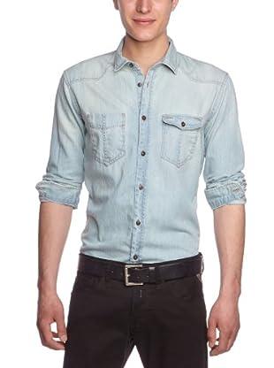 Tom Tailor Camisa Canazei (Azul)