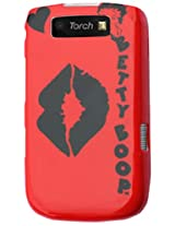 Blackberry 1D Protector Cover for BlackBerry Torch 9800 B483 - Retail Packaging - Red