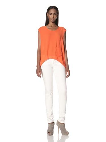 Kimberly Ovitz Women's Mori Top (Bright Rust)