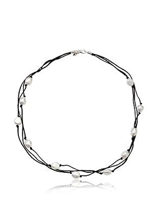 Alraune Halskette Silber 3-reihig