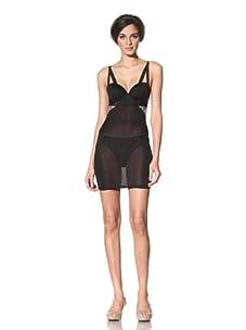 The Lake & Stars Women's Deal Toy Underwear Chemise (Black)