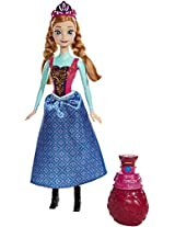Disney Frozen Soft Feature Anna Doll, Multi Color
