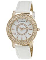 Giordano Analog White Dial Women's Watch -60066-02  (P11670)
