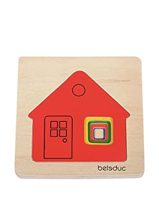 Beleduc Cottage 5-Piece Layer Puzzle