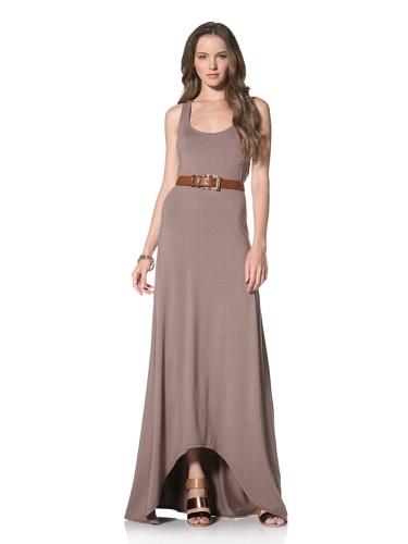 Twenty Tees Women's Racerback Maxi Dress (Mud Bath)