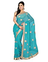 Faux Chiffon Party wear De Marca 6018-A Saree