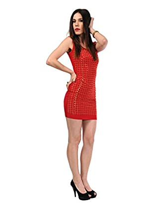 Via Bellucci Vestido Lila (Rojo)