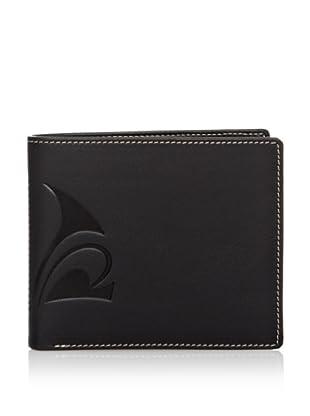 PHILIPPE VANDIER Brieftasche Vandier schwarz/mausgrau