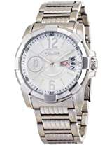 Police Analog Silver Dial Men's Watch 12221JS/04M