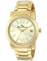 Lucien Piccard Men's LP-10026-YG-10 Bordeaux Analog Display Japanese Quartz Gold Watch
