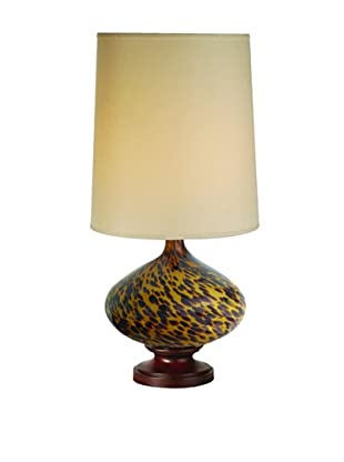 Trend Lighting Hitari Table Lamp, Walnut