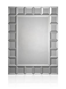 Small Bevelled Squares Mirror