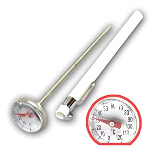 MJ - Instant Large Dial Cooking Food Probe Meat Thermometer Kitchen Temperature