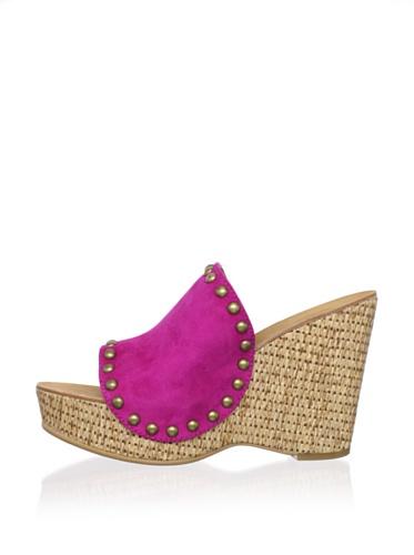 Ash Women's Paprika Wedge Sandal (Fuchsia)