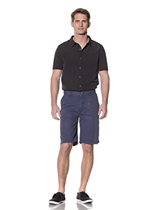 nüco Men's Seersucker Shorts (Navy)