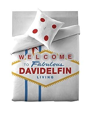 Davidelfin Juego De Funda Nórdica Las Vegas