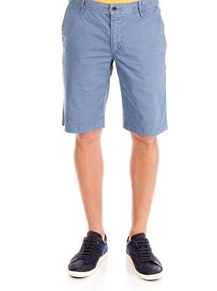 Hugo Boss Pantalón Corto Chino (azul lavado)