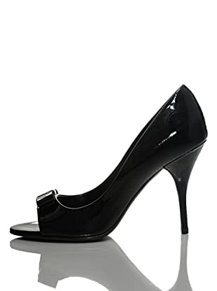Furla Peeptoes Chantilly (Schwarz)