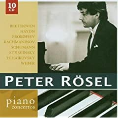 ペーター・レーゼル独奏 ピアノ協奏曲集(10枚組)の商品写真
