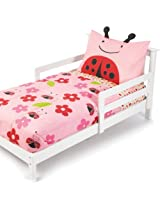 Skip Hop 4 Piece Toddler Bedding Set, Ladybug (Discontinued by Manufacturer)