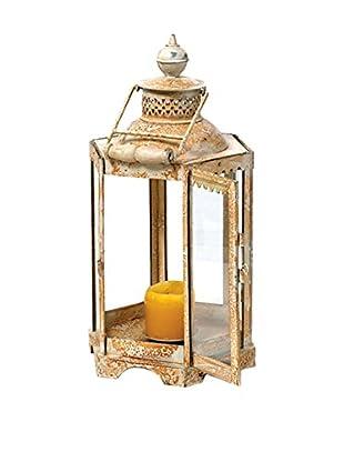 Go Home Antique Iron Candle Lantern