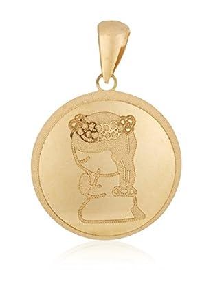 Gold & Diamonds Anhänger 18 Karat (750) Gelbgold