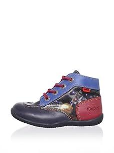 Kickers Kid's Bibou Lace-Up Boot (Jean)