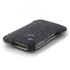 ハンドメイドフェルトケース for iPhone3G ブラック