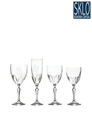 Cristal de Bohemia Cristalería 48 Piezas Senza