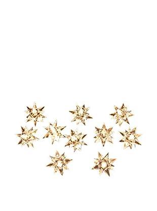 Kurt Adler 10-Light Clear Diamond Star Light Set