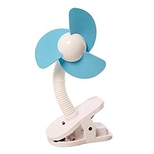 Dreambaby L230 Stroller Fan-White/Blue