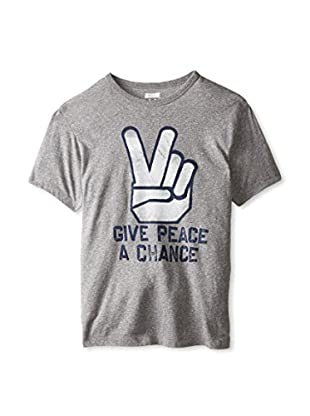 Tailgate Clothing Company Men's Give Peace Crew Neck T-Shirt